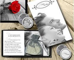 faire part mariage originaux part mariage original boite riz et photo b n
