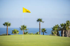 Golf Tournament Flags Aim For The Pin The Flagstick Of Golf