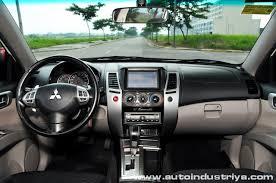 Mitsubishi Pajero 2008 Interior 2012 Mitsubishi Montero Sport Gls Mivec V6 Car Reviews