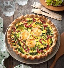 cuisiner le brocolis frais tarte au chèvre frais viande des grisons et brocolis les