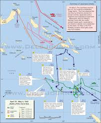 Chicago Midway Map by The Battle Of The Coral Sea Six Great Maps