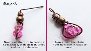 diy beaded pendant necklace images How to make triple beaded pendant diy jewelry making tutorial jpg