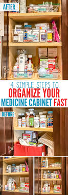 organize medicine cabinet 4 simple steps to organizing your medicine cabinet fast collage jpg
