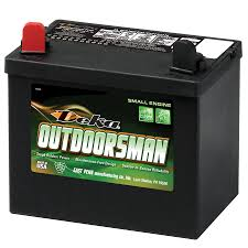 shop deka 12 volt 410 amp mower battery at lowes com