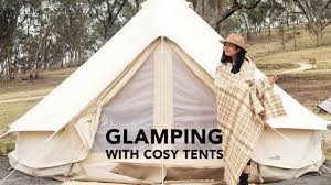Cosy Travel Vlog Glamping In Daylesford Australia With Cosy Tents