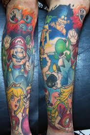 18 best super mario tattoo images on pinterest diy dashboards