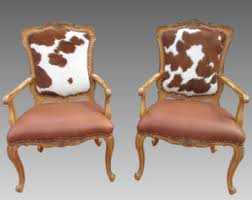 Cowhide Chair Australia Cowhide Chair Cow Hide Set Of Four Chairs English Regency