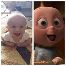 people constantly tell me he looks like jack jack from the