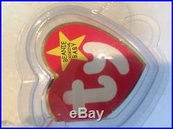 ty valentino extremely ty valentino beanie baby mint condition swing tag