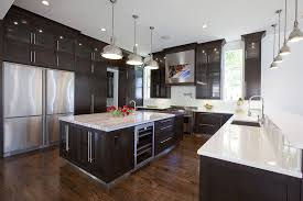 luxury kitchen island modern kitchen cabinet colors ideas with espresso coloring plus