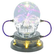 halloween led spotlights hyde and eek boutique skull plasma ball with led bulb