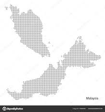 map malaysia vector malaysia dotted map vectoreps10 stock vector exclusivelly