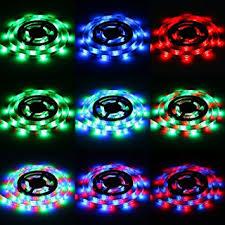 led light strips sunsbell battery powered led rope