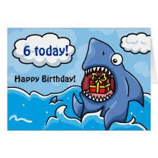 shark birthday card u2013 gangcraft net