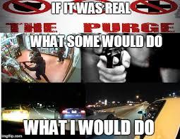 Purge Meme - the purge