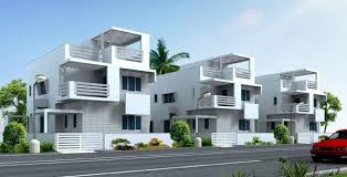Row Houses In Bangalore - 1000 square feet row house design home deco plans