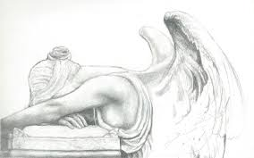 angel sketches in pencil drawing art gallery