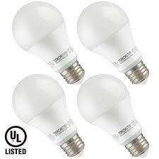 garage door opener a19 led light bulb 100w equivalent 1600 lumens