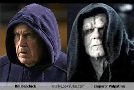 Emperor Palpatine Meme - bill belichick totally looks like emperor palpatine totally
