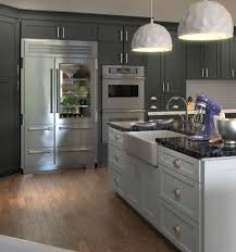 Grey Shaker Kitchen Cabinets Coffee Table Maple Gray Traditional Grey White Shaker Kitchen