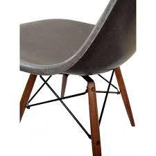 chaise eames grise chaise dsw grise charles eames ées 70 design market