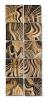 135 best ceramics pottery images on pinterest ceramic pottery honey ripple tiles by natalie blake ceramic wall sculpture