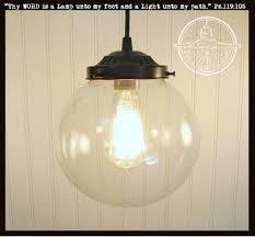 Clear Glass Pendant Light Fixtures Glass Lighting Fixtures Flush Mount Lights The Lamp Goods