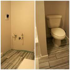 three weeks in bathroom s remodel update living in yellow