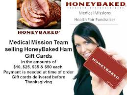 gift card fundraiser honeybaked ham gift card fundraiser gwinnett community church