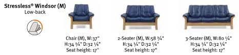 Stressless Windsor Sofa Price Ekornes Stressless Windsor Low Back Sofa Loveseat Chair And