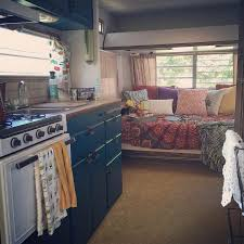 Camper Interior Decorating Ideas by Chantal U0027s Colorful Camper Makeover A Teal Delight