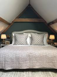 babington house somerset hotel review london evening standard loft style bedroom in the coach house kate lough