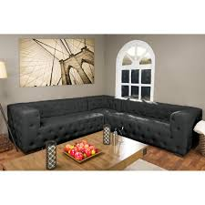L Shaped Fabric Sofas Jared Gray Fabric Sofa S5153 The Home Depot