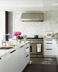 kitchen room 2017 white brick backsplash tile in italian kitchen