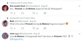 jo malone black friday amazon primark launches 3 perfume that u0027s exactly like jo malone daily