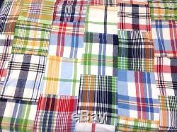 Pottery Barn Madras Curtains Barn Madras Plaid Shower Curtain Multi Color No Longer Available