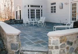 Patio Stone Designs Pictures by Bluestone Patio Stone Wall