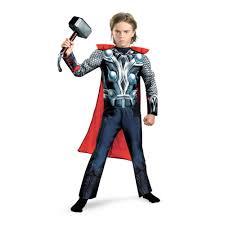 kids boys muscle thor avenger costume 34 99 the costume land
