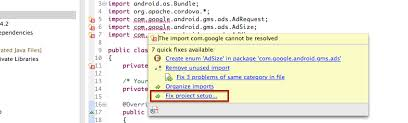 android gms the import android gms cannot be resolved stack overflow