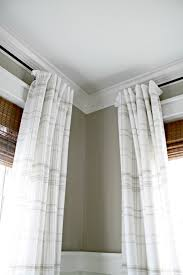 how to make store bought drapes look custom from thrifty decor