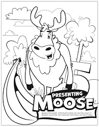 free printable moose math coloring pages duck duck moose