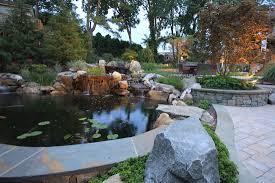 waterfall u0026 koi pond design in vienna virginia surrounds