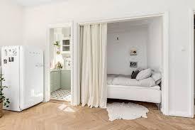 creer une chambre comment créer un espace nuit dans un studio visitedeco