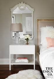 Design For Oval Nightstand Ideas Lovable Mirrors Above Nightstands Mirror Above Bed Design Ideas