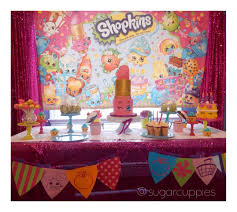 dessert table backdrop diy shopkins party backdrop and dessert table sugar cuppies the