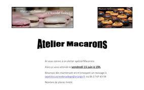 cours de cuisine val d oise atelier spécial macarons le 15 juin en val d oise la