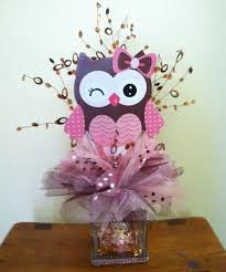 owl centerpieces owl baby shower centerpieces adastra