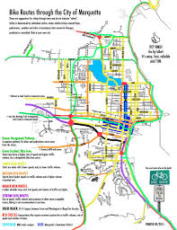 Washington Traffic Map by Bike Downtown Marquette Downtown Marquette Michigan