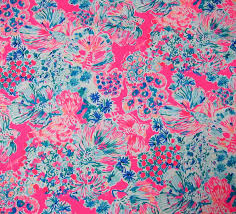 2017 lilly pulitzer cotton dobby fabric
