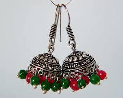 jhumka earring jhumka earrings etsy